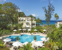 coral reef club, hotel exterior