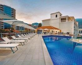 Budva, pool and exterior