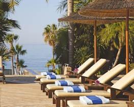 amathus beach hotel limassol, loungers