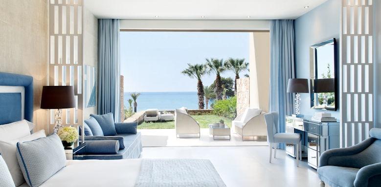 Sani Club, junior suite garden sea view