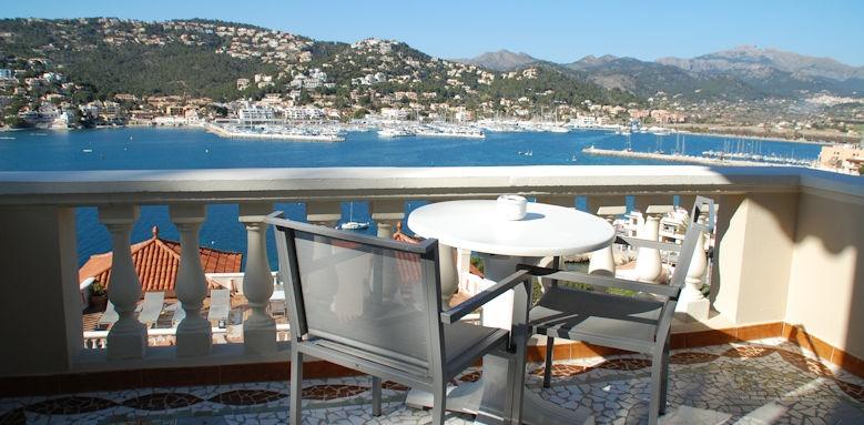 Torre room view, Villa Italia