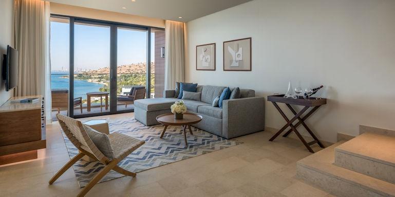 Amara, duplex rooftop living room