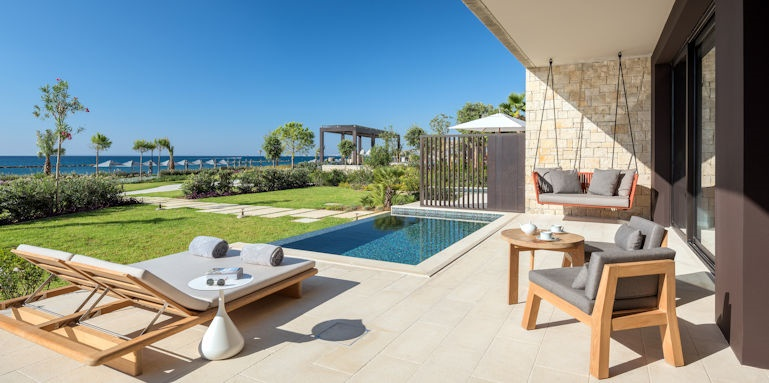 Amara, bungalow with private pool