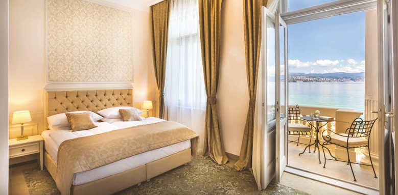 Remisens Premium Grand Hotel Palace, superior balcony with sea view