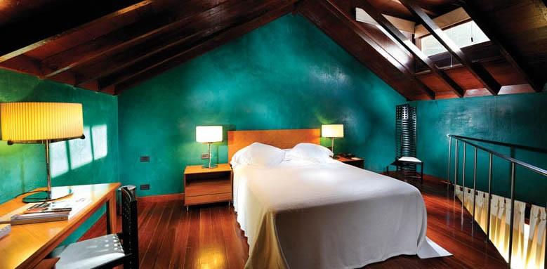Hotel San Roque, upper floor duplex room