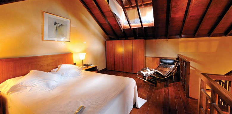 Hotel San Roque, duplex suite upper floor