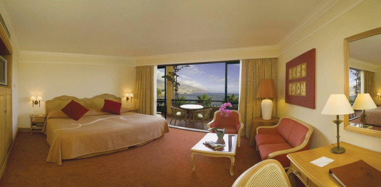 The Cliff Bay, Standard Sea View Room