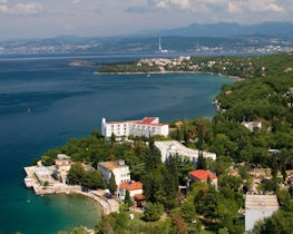 view of kvarner landscape, croatia