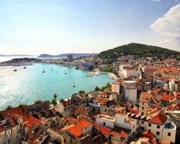 Split coastal view