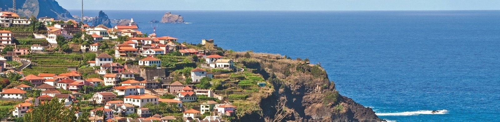 Madeira coastal view