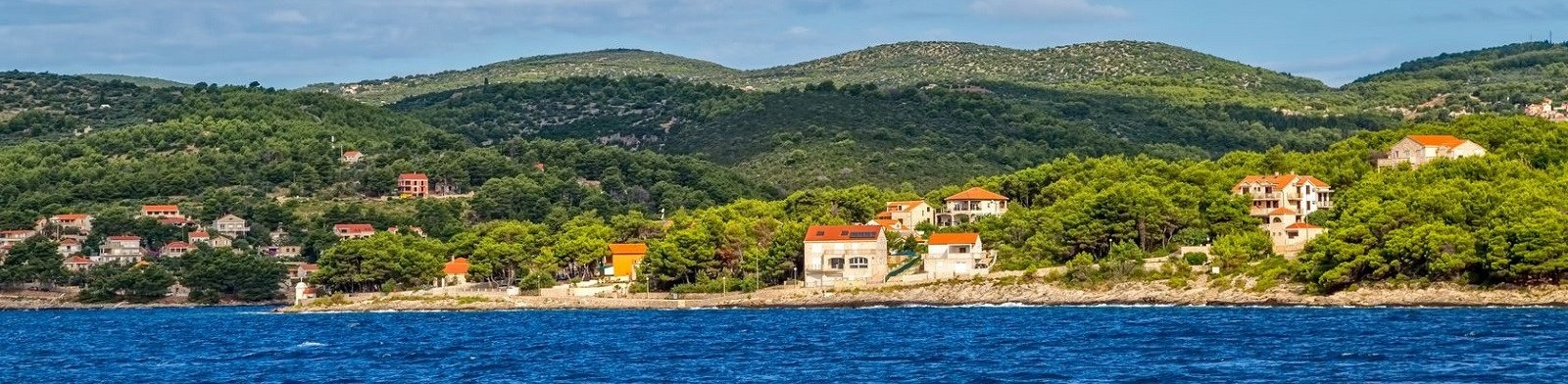 Brac Island coastline