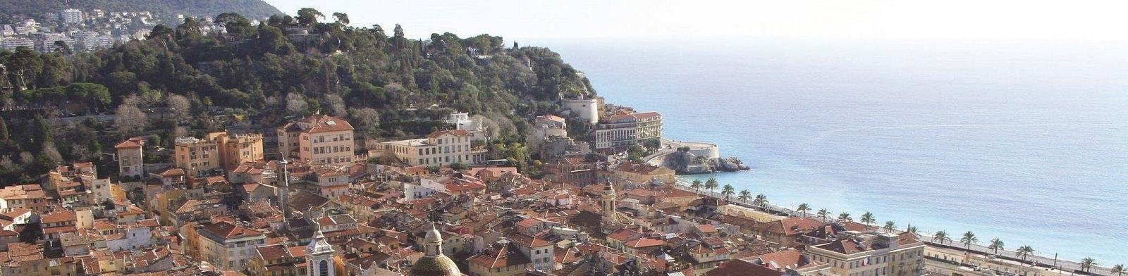 Cote d'Azur view