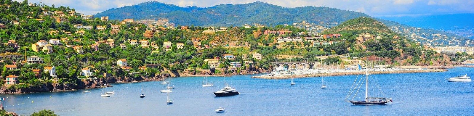 Cote d'Azur coastline