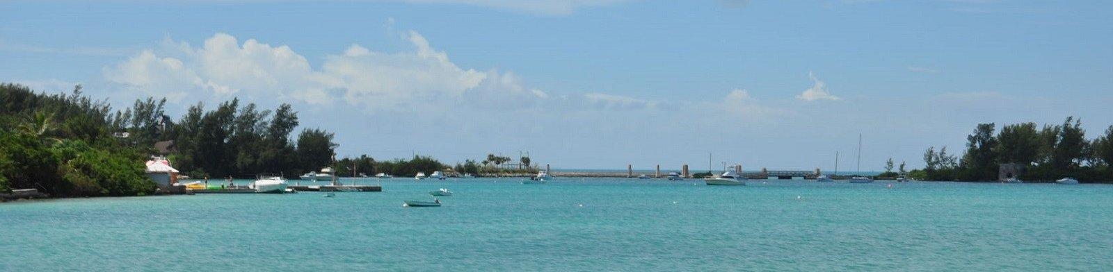 Hamilton seascape, Bermuda