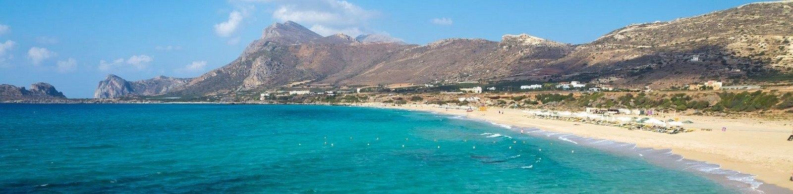 Beach. Crete