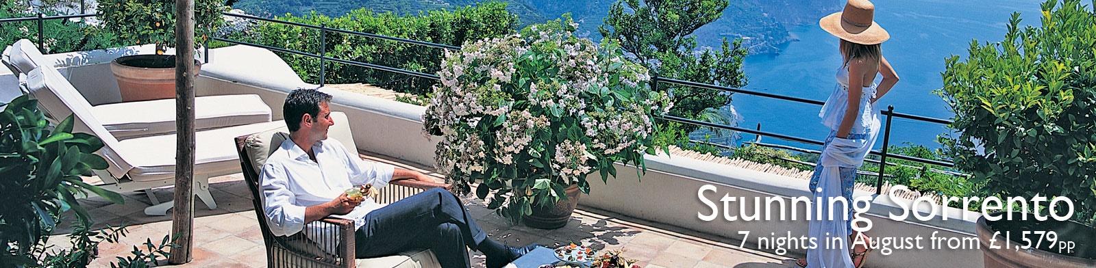 Campania holidays