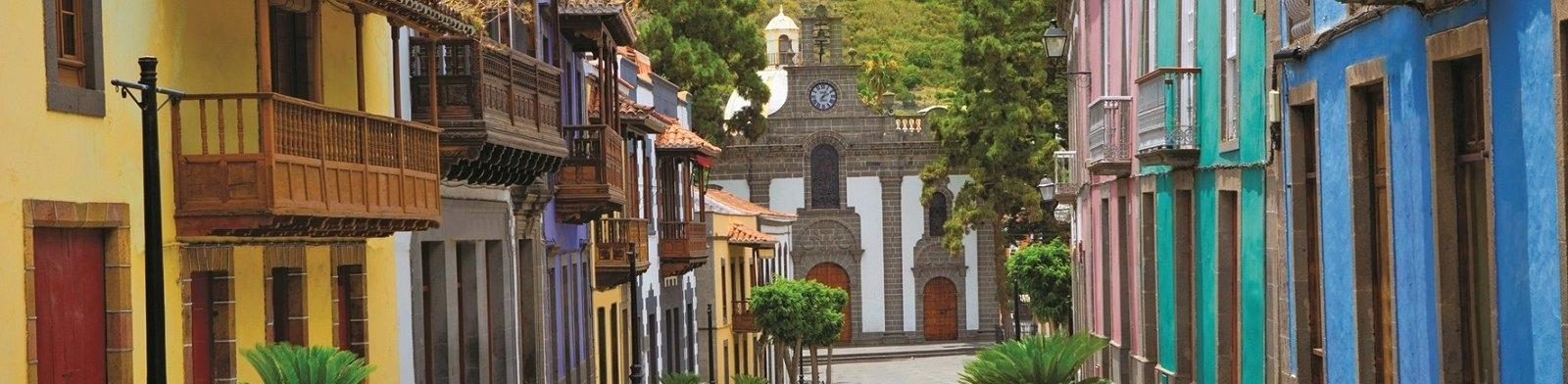 Street in Gran Canaria