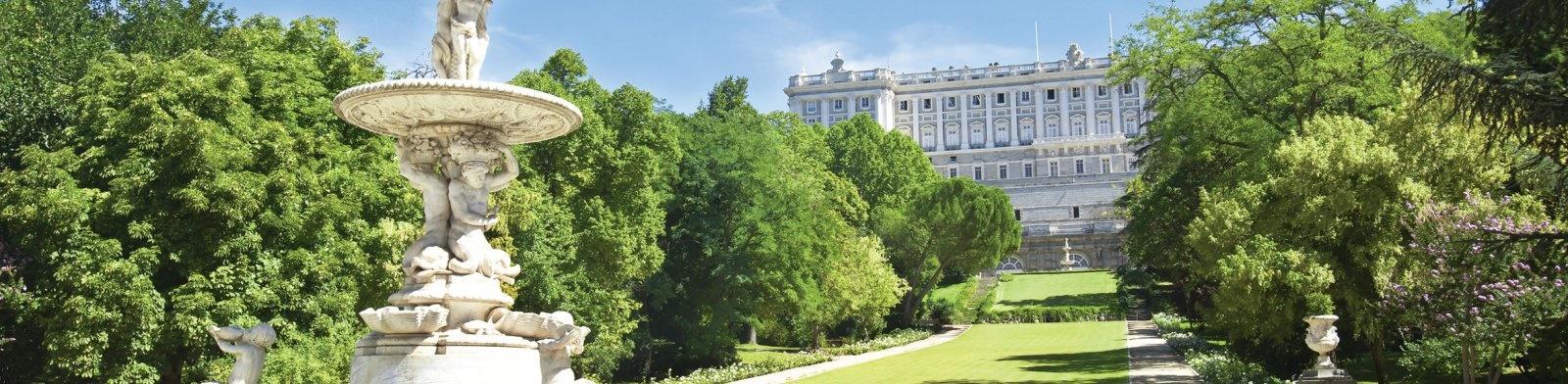 Royal Palace Gardens, Madrid