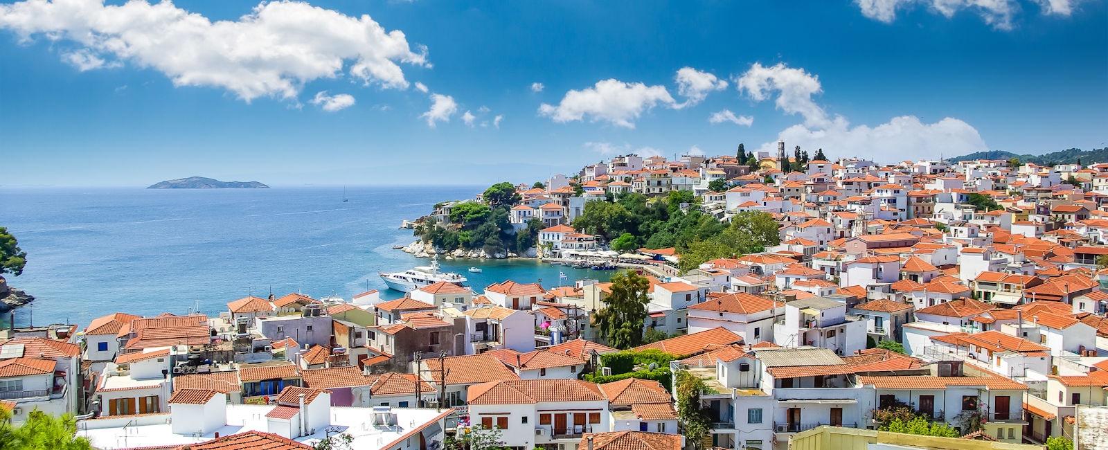 skiathos town, greece