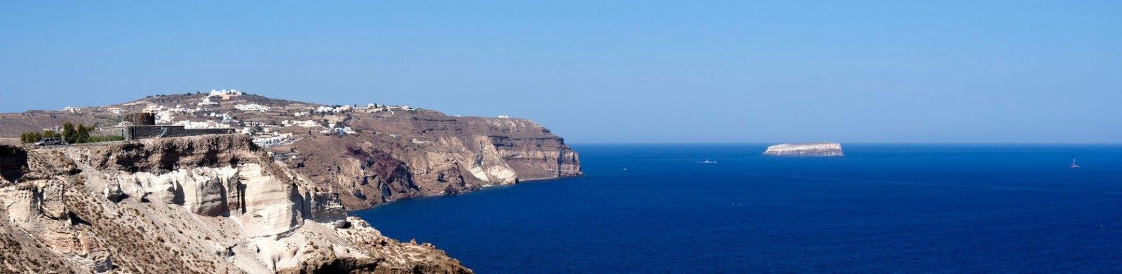 Megalochori, Santorini