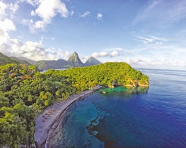 Anse Chastanet view