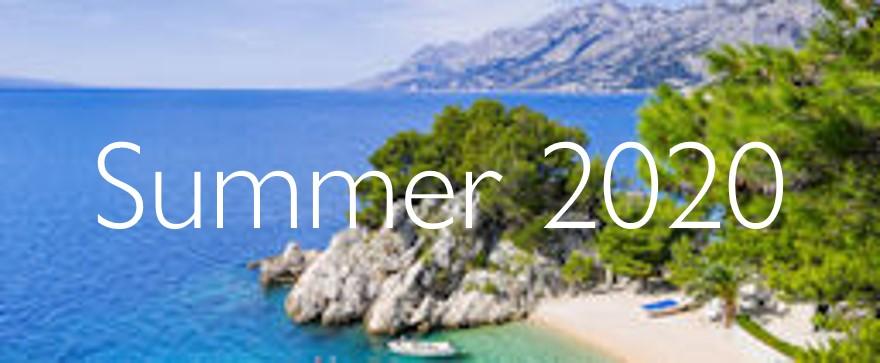 Summer 2020 offers